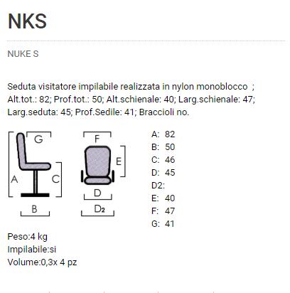 Sedia Nuke S